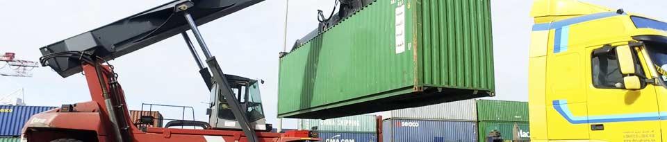 une zone dédiée à la logistique hors conteneurs