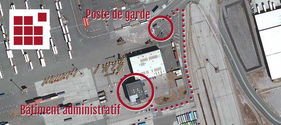 Welcome to the Terminal des Flandres in Dunkirk. For your visit to our offices you must be in possession of an access badge. Go to the port 5889 guard post to obtain your pass.