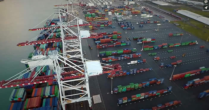 Terminal des Flandres : 49 hectares of facilities dedicated to port logistics